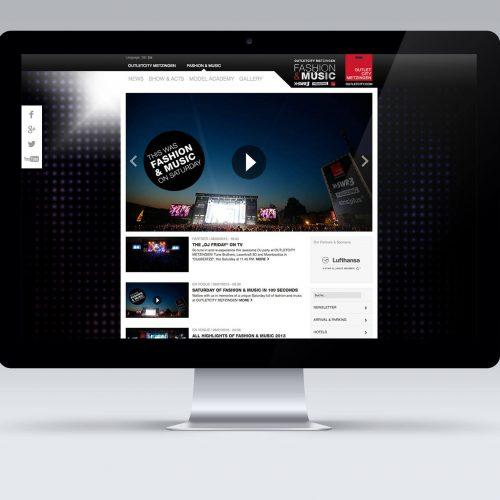Homepage Fashion & Music