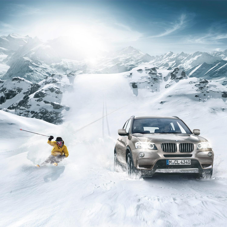 BMW X-Drive Teaser