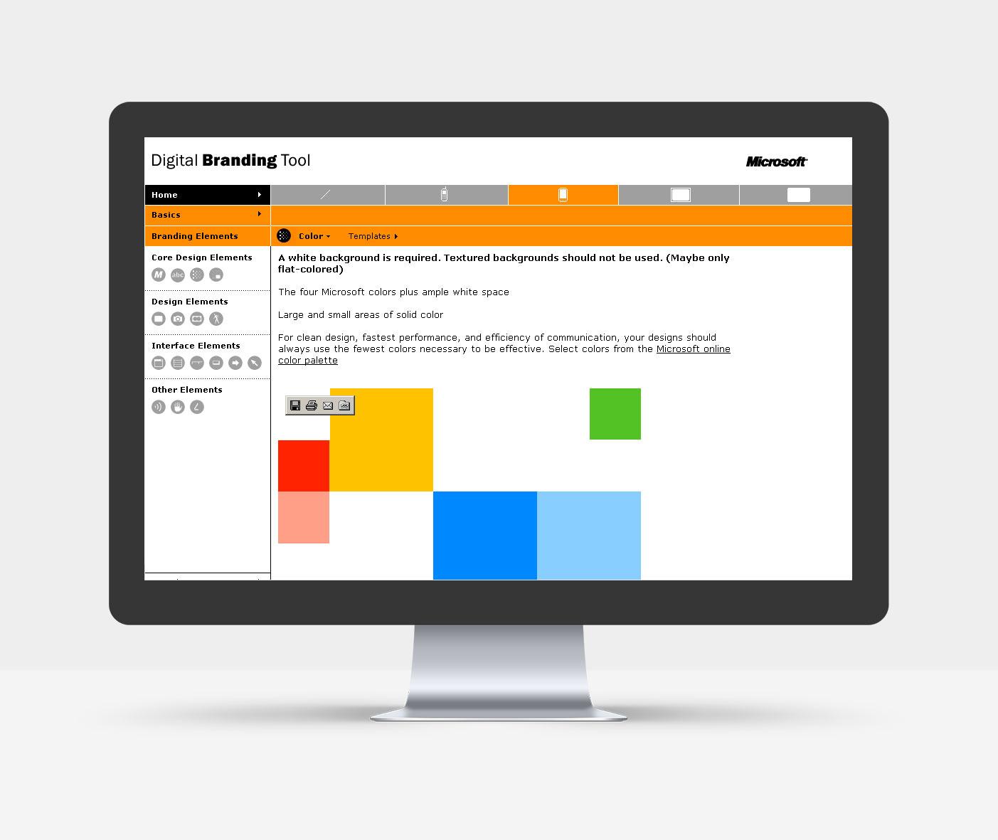 Branding Element: Farben_Digitaler Style Guide