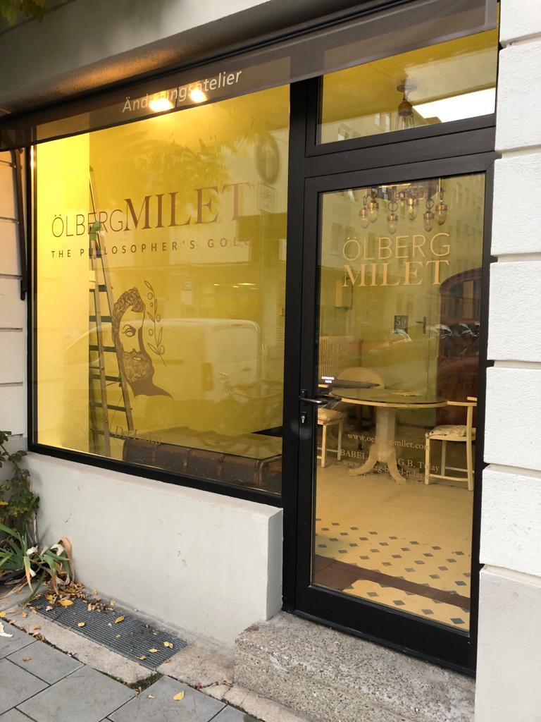 Shop Schaufenster Ölberg Milet München Schwabing_2020