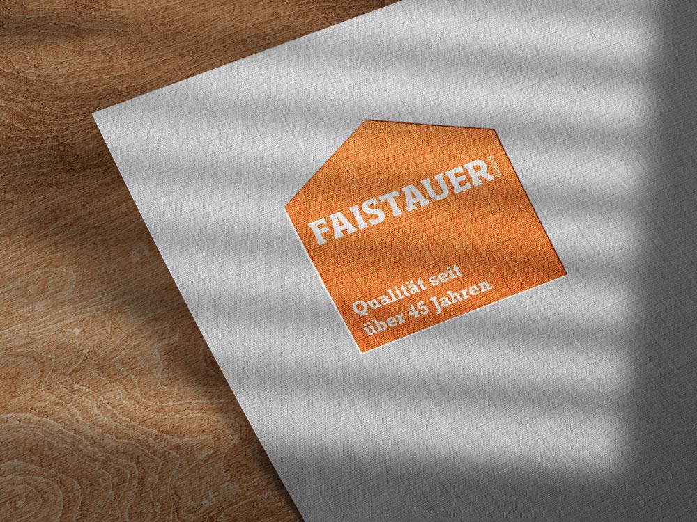 Logo und Claim Faistauer GmbH